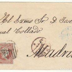 Sellos: ENVUELTA : SELLO 40. SALAMANCA A MADRID. 1856.. Lote 69667081