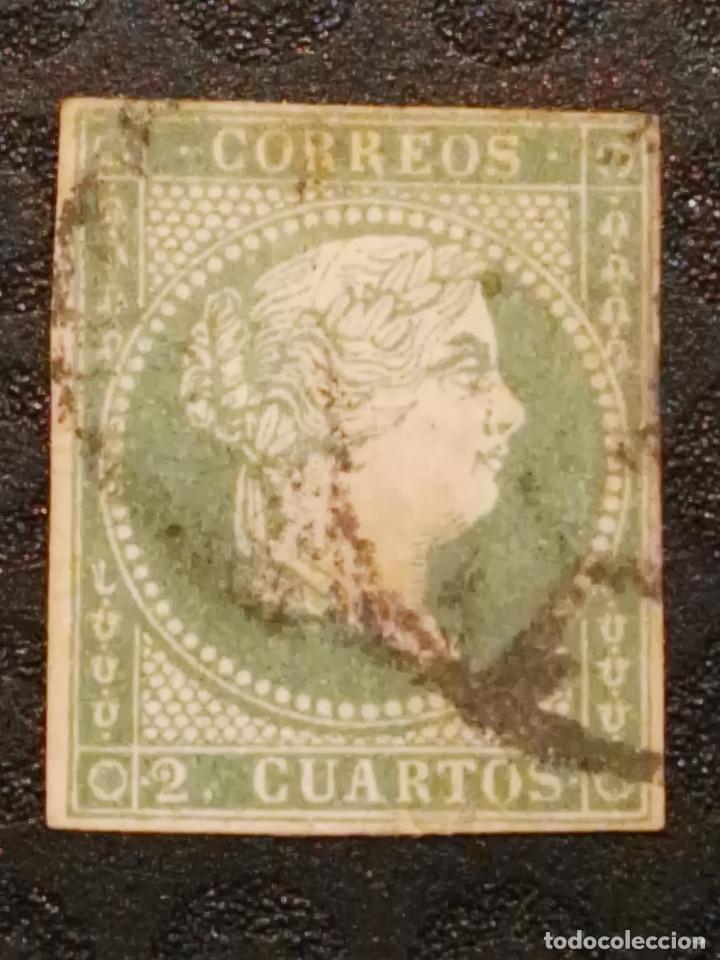 USADO - EDIFIL 47 - SPAIN 1855 ISABEL II (Sellos - España - Isabel II de 1.850 a 1.869 - Usados)