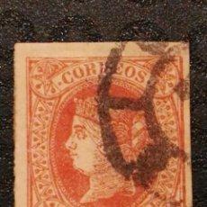 Francobolli: USADO - EDIFIL 64 - SPAIN 1864 ISABEL II. Lote 70203001
