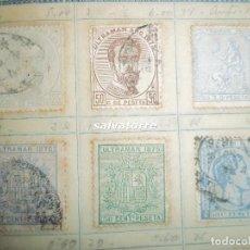 Sellos: LOTE DE 164 SELLOS CORREOS,FILIPINAS, PUERTO RICO Y CUBA ESPAÑOLA. COLONIAS.. Lote 70255517