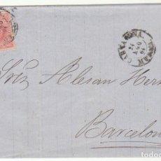 Sellos: SELLO 64 .CARTAGENA A BARCELONA. 1864.. Lote 72448007