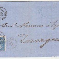 Sellos: SELLO 88. REUS A ZARAGOZA . 1867.. Lote 73081967