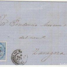 Sellos: SELLO 88. TARRAGONA A ZARAGOZA. 1867.. Lote 73083983