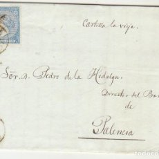 Sellos: SELLO 81. GIJON A PALENCIA. 1866.. Lote 73106835