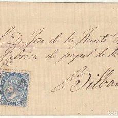 Sellos: SELLO 88. BURGOS A BILBAO. 1867.. Lote 73136503
