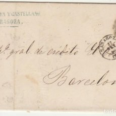 Sellos: SELLO 81. ZARAGOZA A BARCELONA. 1866.. Lote 73139871