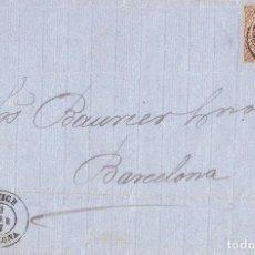 Sellos: 0119. CARTA ENTERA RODA DE TER (BARCELONA) 1863, FECHADOR DE VICH. Lote 73437507