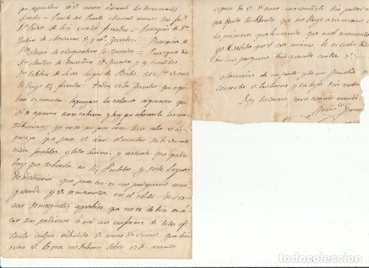 Sellos: Sello 96. CARVALLO (CORUÑA) a MADRID. 1868. - Foto 3 - 73628475