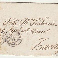 Sellos: SELLO 96 . CERVERA (LOGROÑO) A ZARAGOZA . 1867.. Lote 73630575
