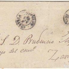 Sellos: SELLO 96 . CERVERA (LOGROÑO) A ZARAGOZA . 1868.. Lote 249496035