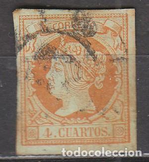 EDIFIL 52, ISABEL II, USADO (Sellos - España - Isabel II de 1.850 a 1.869 - Usados)