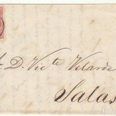 Sellos: FRONTAL : SELLO 48 . GIJON A SALAS. 1859. Lote 74791955