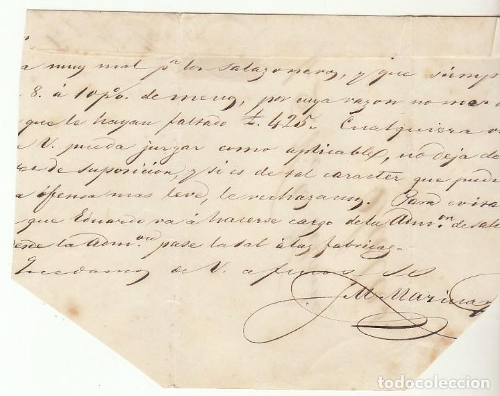 Sellos: FRONTAL : sello 48 . GIJON a SALAS. 1859 - Foto 2 - 74791955