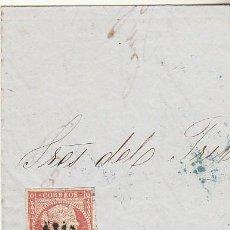 Sellos: FRONTAL : SELLO 48. AVILA. 1856.. Lote 74937027