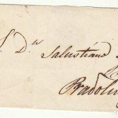 Sellos: FRONTAL : SELLO 52. CORUÑA A PRADOLUENGO (BURGOS). 1862.. Lote 74939915