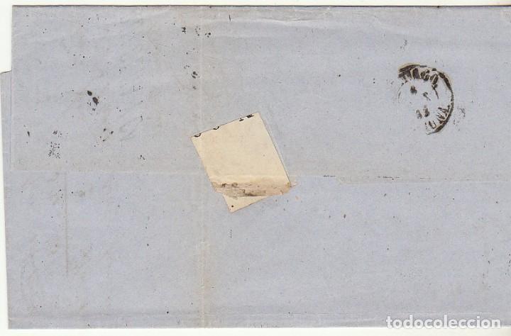 Sellos: sello 58. ISABEL II : BARCELONA a SANTIAGO. 1863. - Foto 2 - 74940275