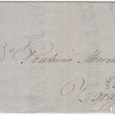 Sellos: SELLO 96 : BARCELONA A ZARAGOZA. 1867.. Lote 75675519