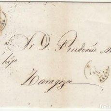 Sellos: SELLO 96 : VALLS (TARRAGONA) A ZARAGOZA .1867.. Lote 75676191