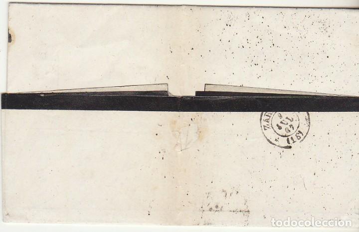 Sellos: Sello 96 : VALLS (TARRAGONA) a ZARAGOZA .1867. - Foto 2 - 75676191
