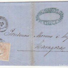 Sellos: SELLO 96 : REUS A ZARAGOZA. 1867.. Lote 75677207