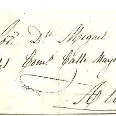Sellos: ENVUELTA CIRCULADA DE LA RODA (ALBACETE) A ALBACETE - SELLO 4 CUARTOS AÑO 1863. Lote 77274389