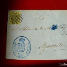 Sellos: FRONTAL FECHADOR TIPO II SEVILLA, MARCA ADUANA DE SEVILLA A AYAMONTE SERVICIO OFICIAL SN. Lote 77602173