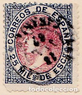 1867 - ESPAÑA - ISABEL II - EDIFIL Nº 95 (Sellos - España - Isabel II de 1.850 a 1.869 - Usados)