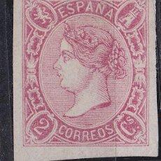 Sellos - Cl2-6- Clásicos Isabel Edifil 69 Nuevo (*) Sin goma - 81718764