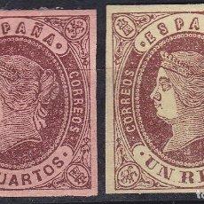 Selos: AA16- CLÁSICOS ISABEL EDIFIL 58 Y 61 NUEVOS*. Lote 81720044