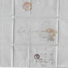 Sellos: CARTA. 1853. DE P.MARTINEZ, CADIZ DIRIGIDO A JOSE Mª DE YBARRA, SEVILLA. VER. Lote 84898104