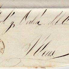 Sellos: CARTA ENTERA DE MANRESA -BARCELONA - A REUS -1861 SELLO NUM. 52. Lote 87141460