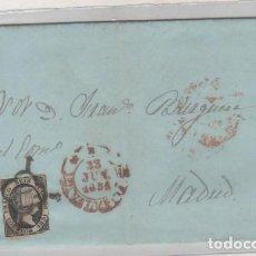 Sellos: FRANCO SEIS CUARTOS 1851 VALENCIA. Lote 93689870