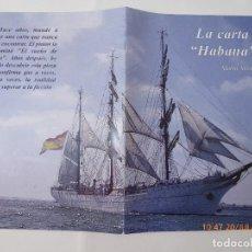 Sellos: LA CARTA HABANA, POR MARIO MIRMAN, HISTORIA. Lote 94112745