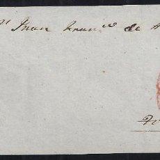 Sellos: 1854. FRENTE DE CARTA DIRIGIDA DE VILLA REAL A TOLOSA.. Lote 95872747