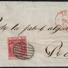 Sellos: 1854. CUBIERTA DIRIGIDA DE TUDELA A REUS.. Lote 95874375
