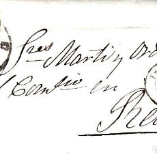 Sellos: CARTA ENTERA DE TERUEL A REUS -1861 SELLO NUM. 52 RUEDA DE CARRETA 47 Y FECH.TERUEL,REUS. Lote 96796663