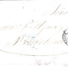Sellos: CARTA ENTERA CON NUM. 40 DE VIC A BARCELONA - MATASELLOS PARRILLA NEGRA . Lote 97500711
