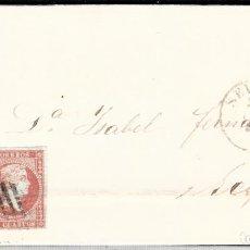 Sellos: CARTA ENTERA CON NUM. 44 DE SEVILLA (1856) A ECIJA , MATASELLOS PARRILLA. Lote 97502107