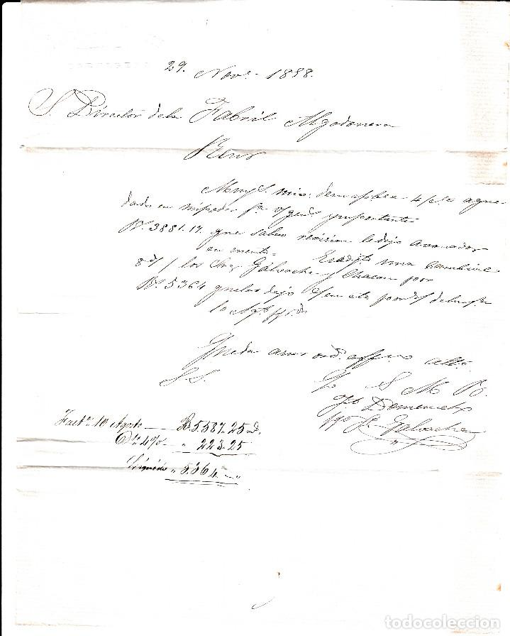 Sellos: CARTA ENTERA CON NUM. 48 DE JACINTO DOMENECH EN CARTAGENA (1858) A REUS CON DOS FECHADORES NEGROS - Foto 3 - 97568243