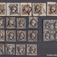Sellos: 1851 EDIFIL Nº 6 LOTE DE SELLOS PARA ESTUDIO , . Lote 98244539