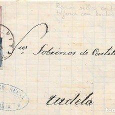 Sellos: VITORIA. EDIFIL 175-188. SELLOS CORTADOS A TIJERA. DE VITORIA TUDELA. 1878. Lote 99248895