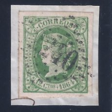 Sellos: EDIFIL 65 ISABEL II. AÑO 1864. EXCELENTES MÁRGENES. LUJO.. Lote 101140283