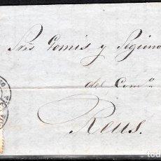 Sellos: CARTA ENTERA CON NUM. 98 DE VELEZ-RUBIO (1869) A REUS. Lote 101143407