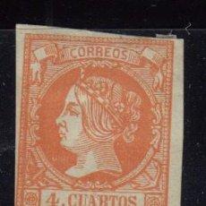 Sellos: 1860 - 1861 EDIFIL Nº 52 , ( * ). Lote 101920287
