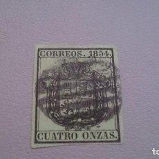 Sellos: 1854 - ISABEL II - EDIFIL 30 - BONITO - MARGENES IGUALADOS - ESCUDO DE ESPAÑA.. Lote 103140867