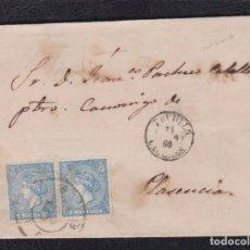Sellos: 1866.- TRUJILLO (CACERES) A PLASENCIA. Lote 103606523
