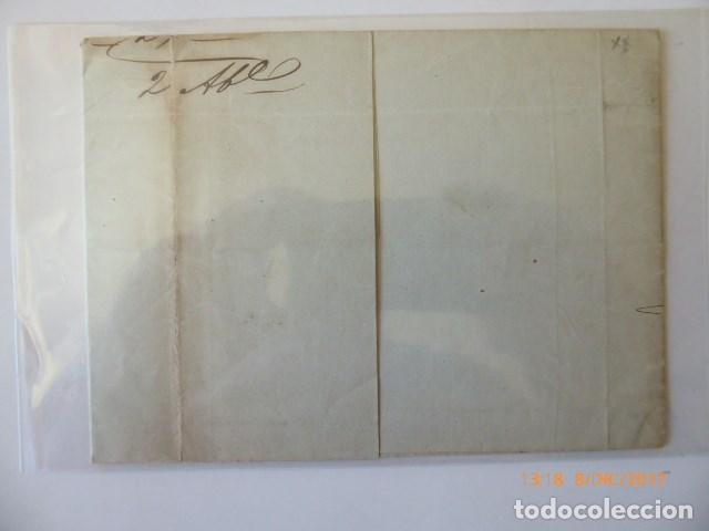 Sellos: carta envuelta franqueo 6 c, 1852, nº edifil 12, aduana de madrid a malaga, 23 marzo 1852, - Foto 2 - 109141607