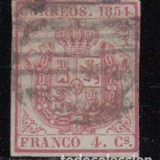 Sellos: ESPAÑA , 1854 EDIFIL Nº 33. Lote 109470783