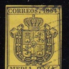 Sellos: ESPAÑA , 1854 EDIFIL Nº 28 . Lote 109477971