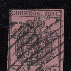 Sellos: ESPAÑA , 1854 EDIFIL Nº 29. Lote 109478299